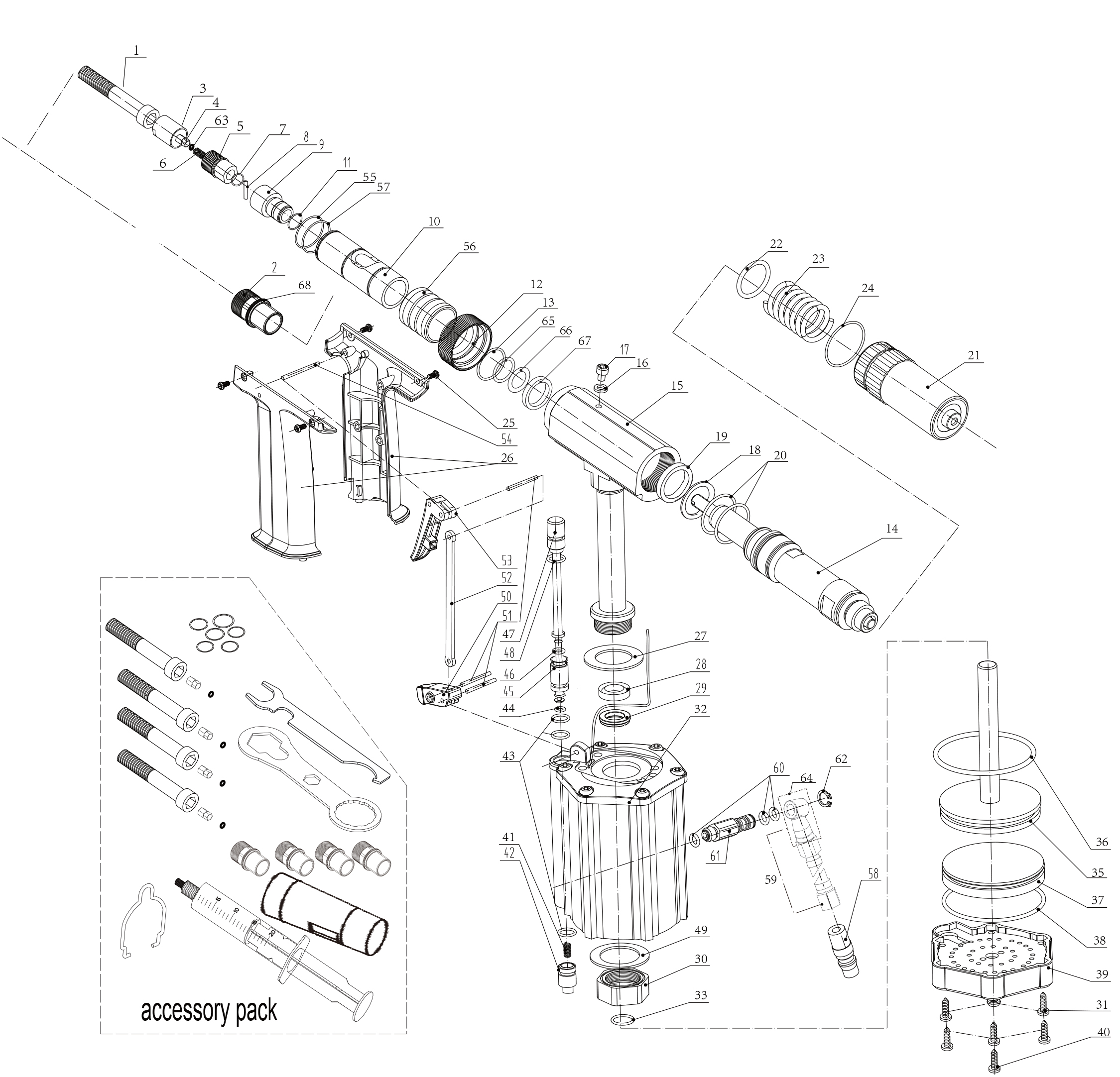 Запчасти Time-Proof M2308